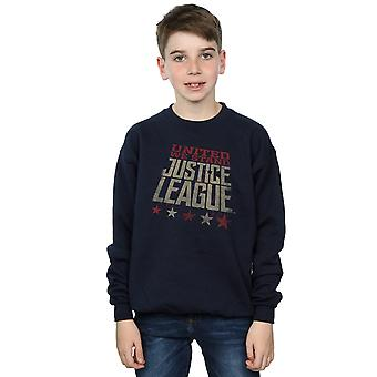 DC Comics Boys Justice League Movie United We Stand Sweatshirt