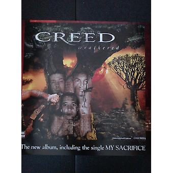 Creed Weathered Poster