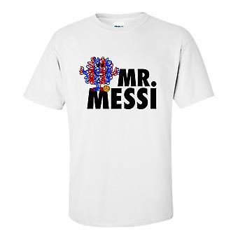 Lionel Messi senhor Messi t-shirt (branco)