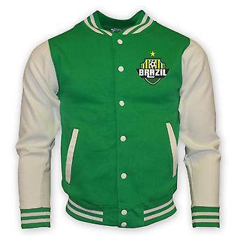 Brazil College Baseball Jacket (vert)