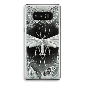 Samsung Galaxy Note 8 gjennomsiktig sak (myk) - Haeckel Tineida