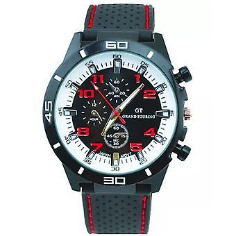 Mens Analogue Sports Smart Watch Rubber Strap BGRW