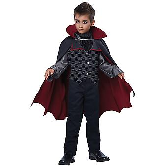 Count Bloodfiend Vampire Dracula Count Twilight Halloween Boys Costume