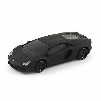 Lamborghini Aventador Sports Car USB Memory Stick 16Gb - Black