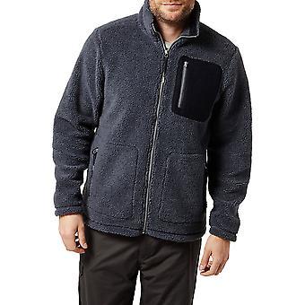 Craghoppers Mens Edvin Polyester Full längd Zip Fleece Jacka Top
