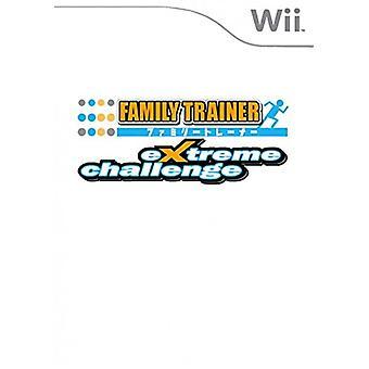 Familj tränare Extreme Cha (Nintendo Wii)-fabriken förseglad