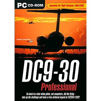 DC9-30 Professional-lisäosa FS 20022004:lle (PC CD) - Uusi
