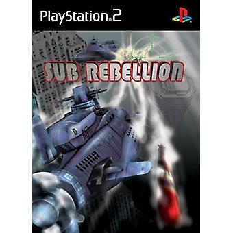 Sub Rebellion (PS2) - New Factory Sealed