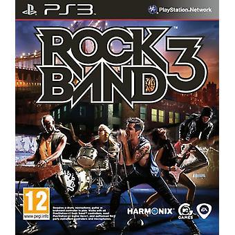 Rock Band 3 (PS3)-nyt