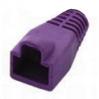 Manga de alivio de tensión RJ45 PC PK MHRJ45SRB rosa MH conectores 6510-0100-11 1