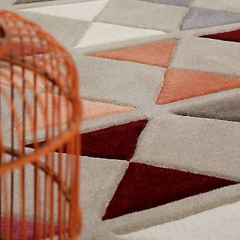 Mahan Teppiche 4186 05 rot von Esprit