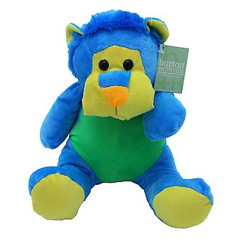 "Plush 10"" Bright Zoo Buddies Lion"