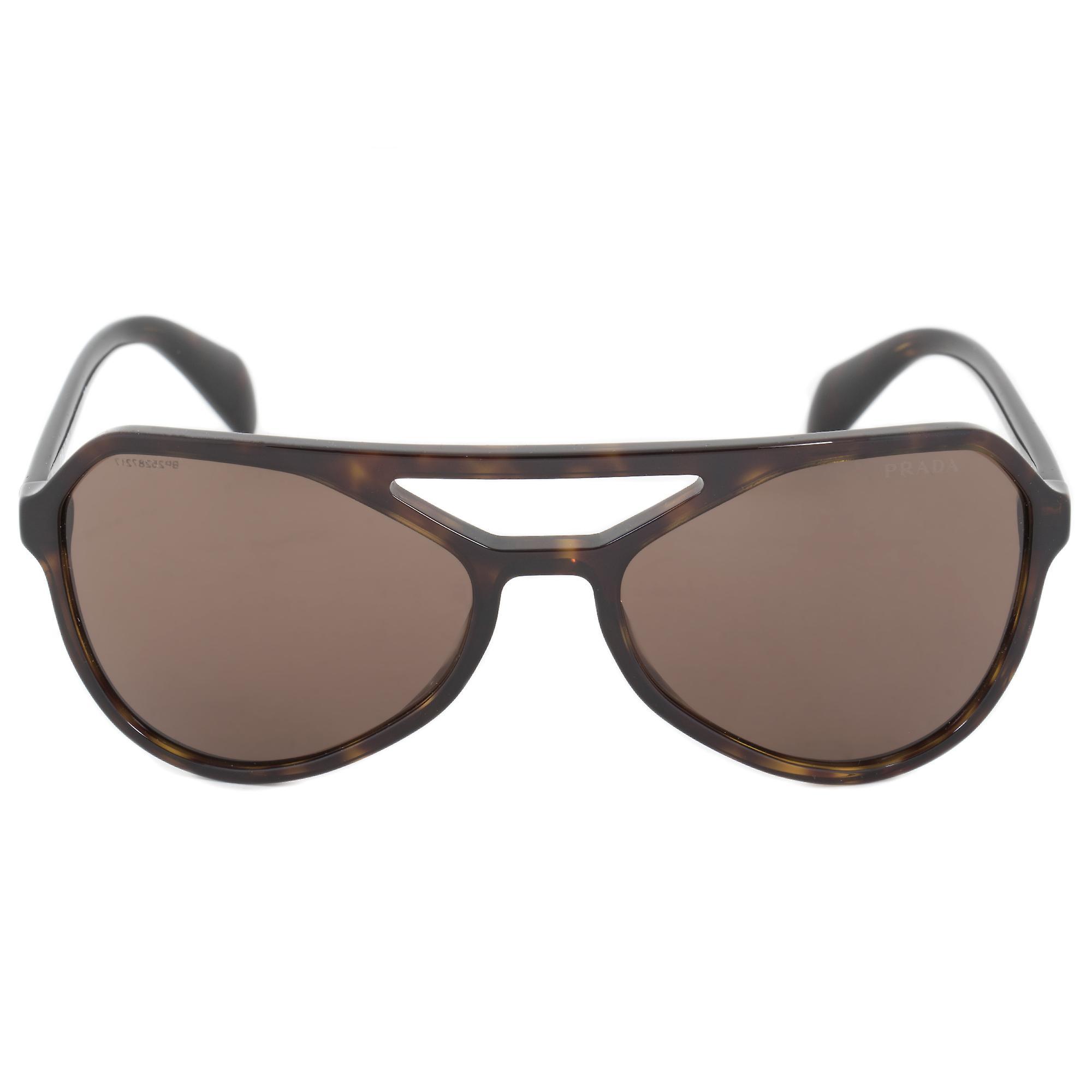 Prada Sunglasses PR22RS 2AU8C1 58   Dark Havana Frame   Brown Lens