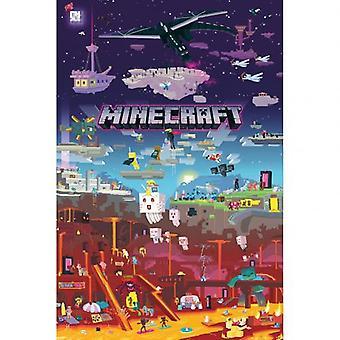 Poster di Minecraft mondo oltre 179