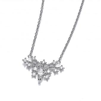 Cavendish French Deco Style Cubic Zirconia Butterfly Necklace