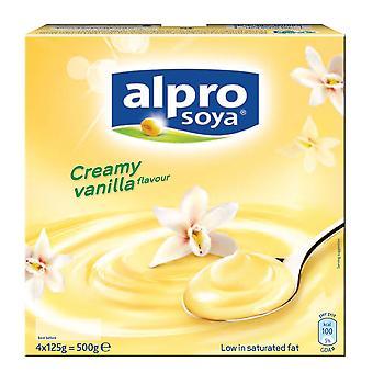 Alpro Heavenly Velvet Vanilla Soya Desserts