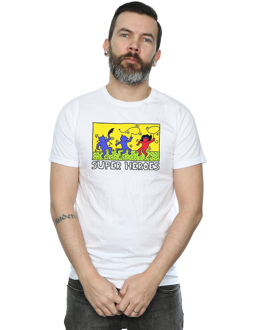 DC Comics Men's Batman Pop Art T-Shirt