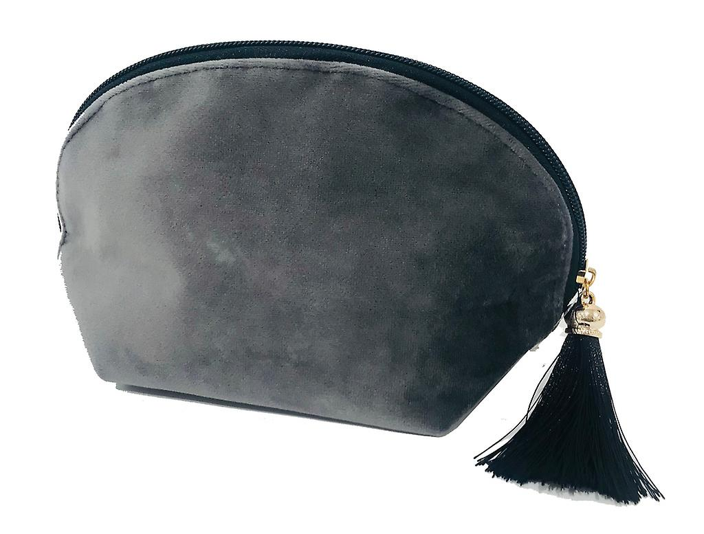 Victoria's Design Necessär sammet grå 21cm
