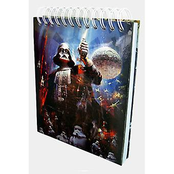 Star Wars Personnages Musical Notebook B