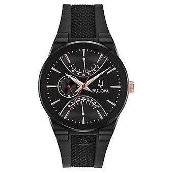 Bulova Grammy Edition Chronograph Rubber Strap 98B321 Watch