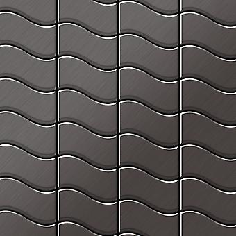 Metal mosaic Titanium ALLOY Flux-Ti-SB