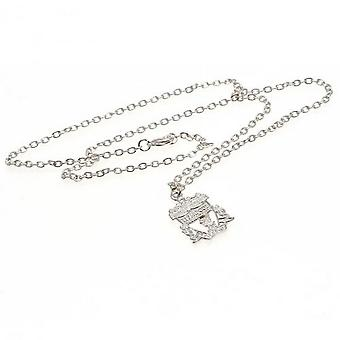 Liverpool FC Silver Plated Crest Pendant And Chain