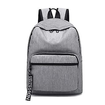 Stylish backpack with space for laptop-grey