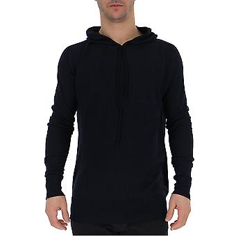 Laneus Cpu120410 Men's Black Cotton Sweatshirt