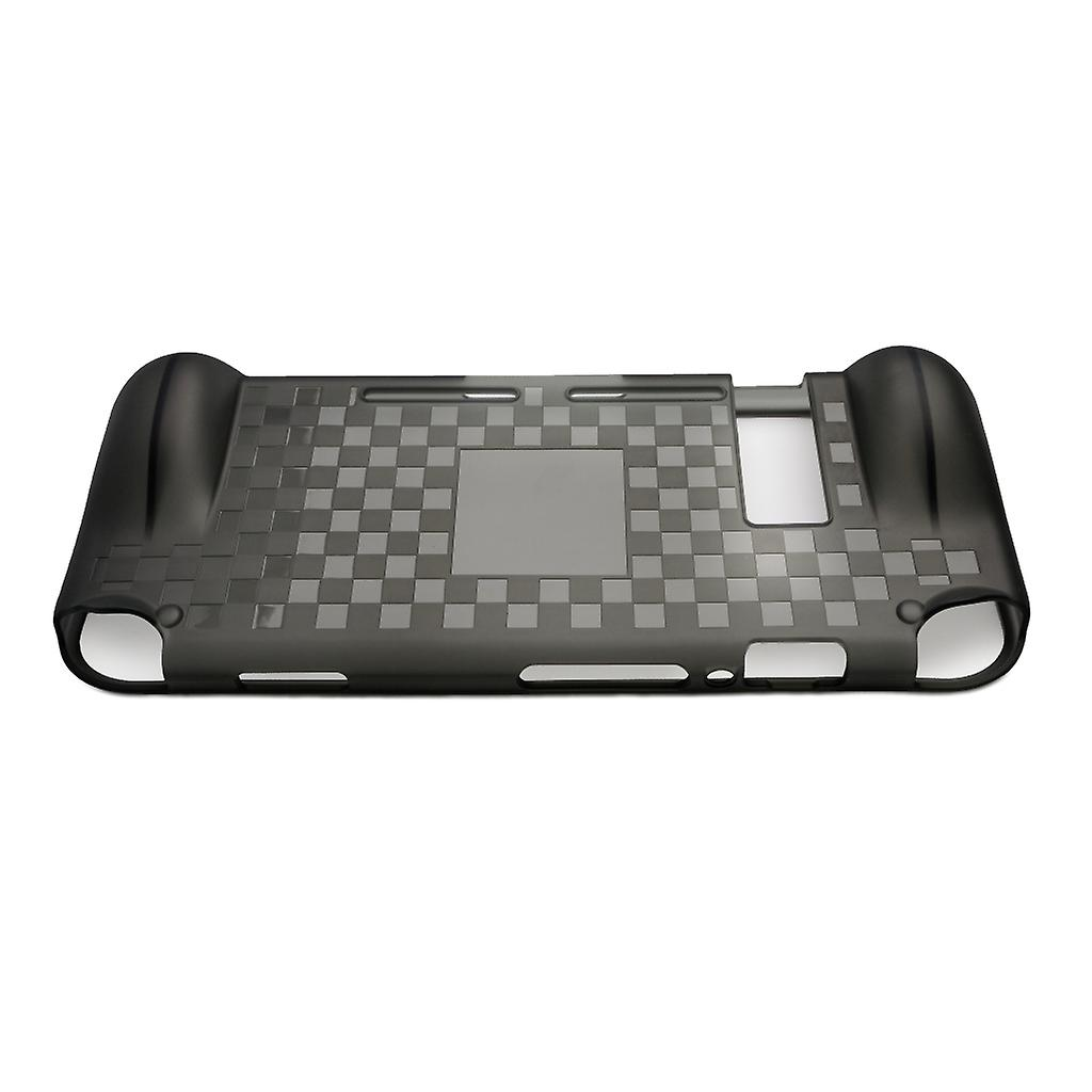 REYTID Replacement Handheld Travel Case Compatible with Nintendo Switch Console Comfortable Protective Bag Grip - Grey TPU Surface