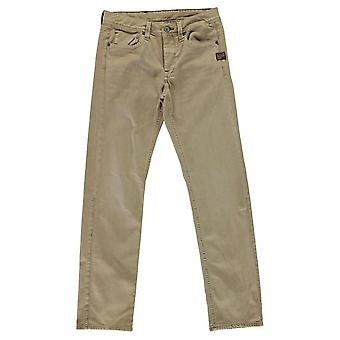 G Star mens RAW Attacc låg rak COJ jeans byxor byxor bottnar zip