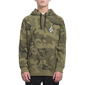 Volcom Deadly Stone Pullover Hoody in Camouflage