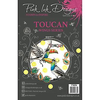 Pink Ink Designs Toucan Wing Series 9 Clear Stamps