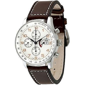 Zeno-watch Herre watch X-large retro Chrono gangreserve P557TVDPR-f2