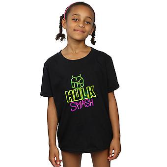 Marvel Girls Hulk Smash T-Shirt