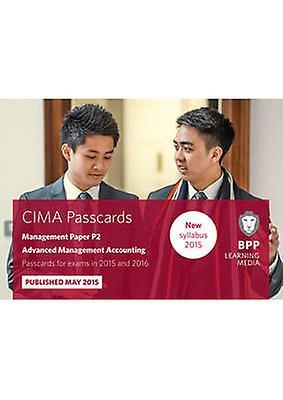 CIMA P2 Advanced Management Accounting - Passcards - Management paper P