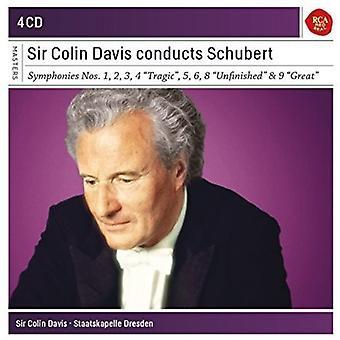 Colin Davis - Sir Colin Davis Conducts Schubert [CD] USA import