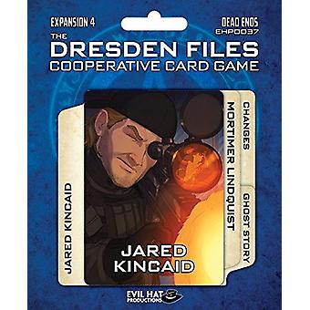 Dead Ends Expansion Pack 4 The Dresden Files Co-op Card Game