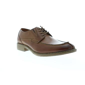 Unlisted by Kenneth Cole Kinley Lace Up Mens Brown Dress Lace Up Oxfords Shoes