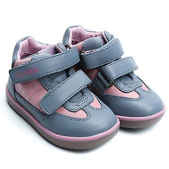 Camper Kids Pursuit Sella Virgo Sneaker, Grey / Pink