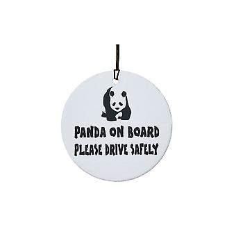 Panda On Board Car Air Freshener