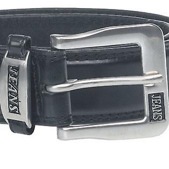 Duke Mens Kenny Bonded Leather Metal Buckle Belt