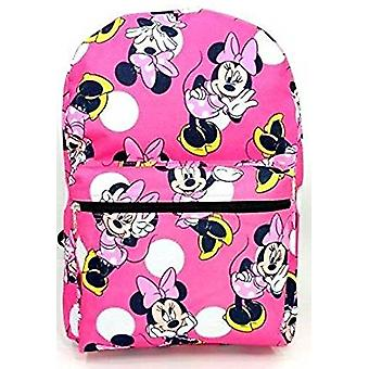 Backpack - Disney - Minnie Mouse - Pink All Over New 100308
