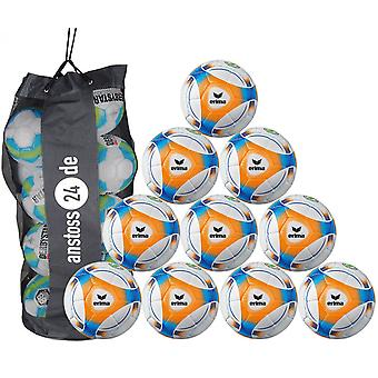 10 x erima youth ball hybrid Lite 290 (2019) includes ball sack