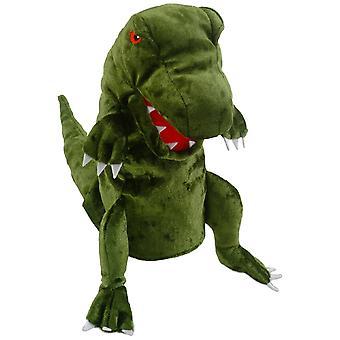 Burattino di mano del dinosauro di Fiesta Crafts (verde)