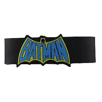 Wristband - DC Comics - Batman Cape Logo Gifts rwb-dc-0012