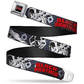 Black Panther titel logo gordel riem