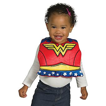 Wonder Woman baby slabbetje