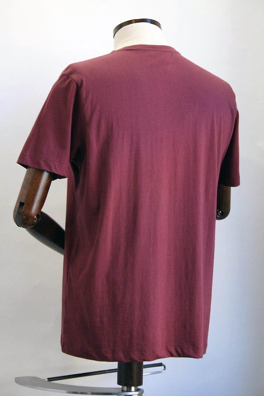 Merc London Mercer Wine Racer Print T-Shirt