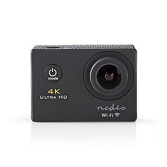 Nedis 4K Ultra HD Action camera, Black