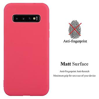 Cadorabo Case for Samsung Galaxy S10 PLUS Case Cover - Flexible TPU Silicone Case Case Ultra Slim Soft Back Cover Case Bumper